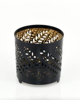 Container Candle Holder – Black